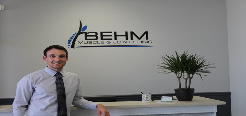 Dr. Adam Behm of Behm Muscle & Joint Clinic