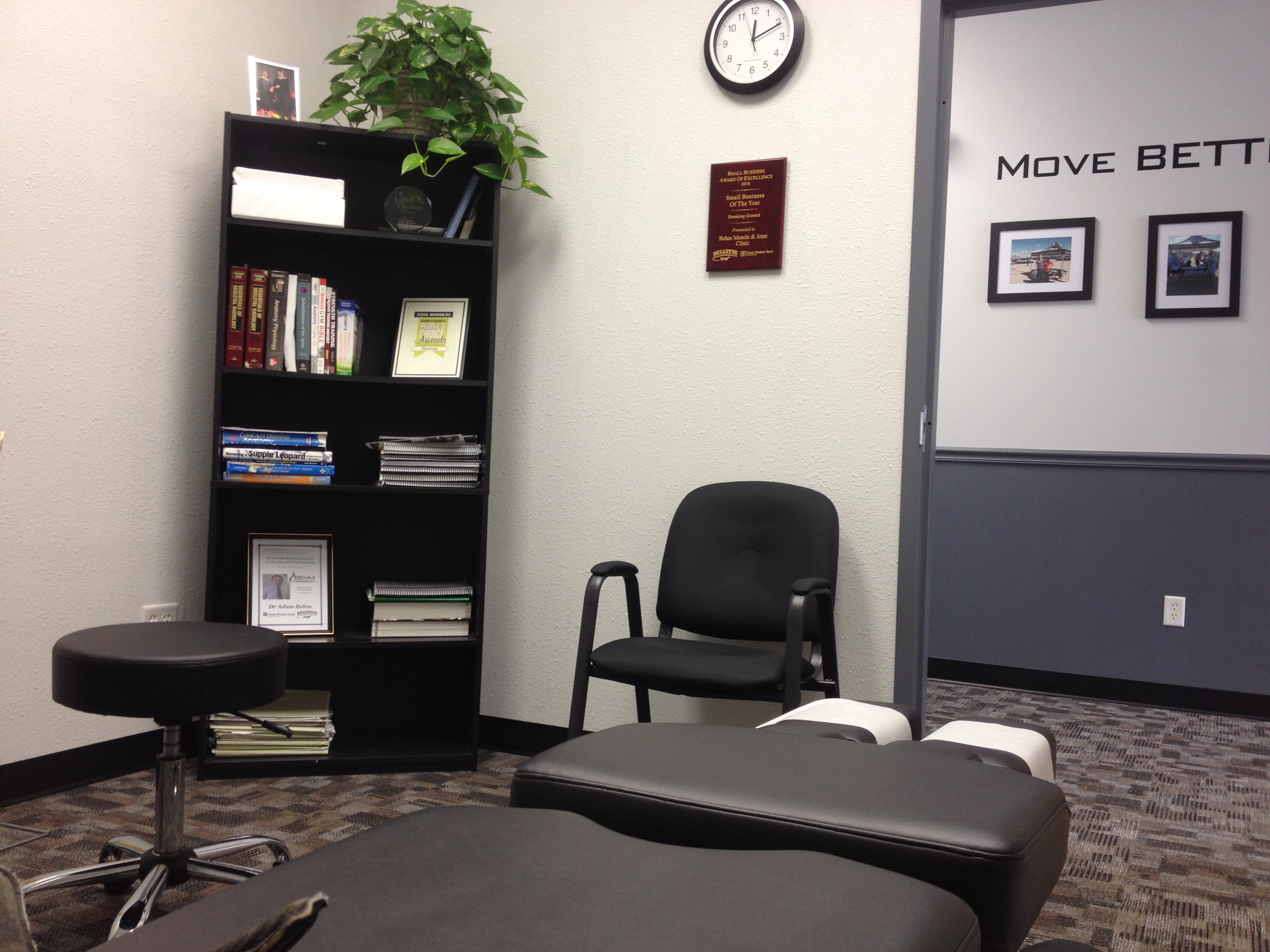Examination Room at Behm Muscle & Joint Clinic