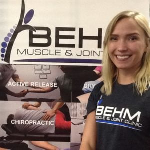 Katie Carlson Behm Muscle & Joint Clinic