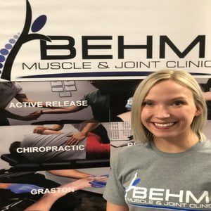 Katie at Behm Muscle & Joint Clinic